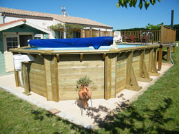 Piscines en for Piscine tubulaire bois